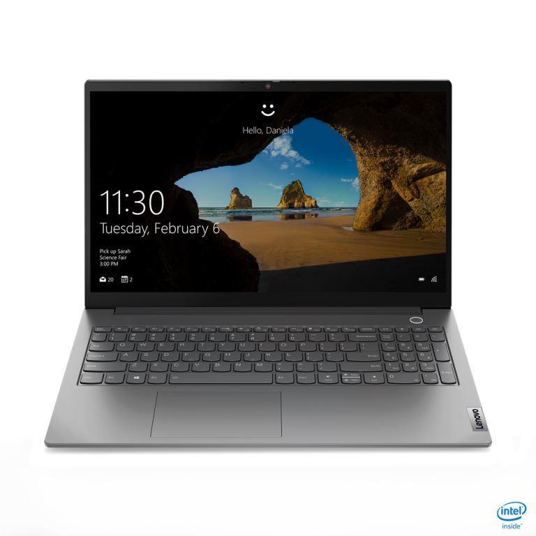 """Lenovo ThinkBook15 G2 ITL/i7-1165G7/8GB+8GB/512GB M.2 SSD + M.2 SSD slot/MX450 2GB/15,6"""" FHD/W10 PRO/šedý"""
