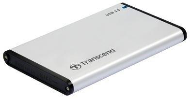 Transcend StoreJet 2.5'' stříbrný HDD Case USB 3.0/SATA