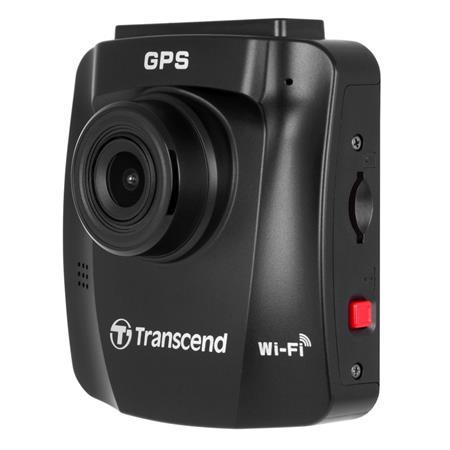 """Transcend DrivePro 250 autokamera, Full HD 1080p, 2.4"""" LCD, 32GB microSDHC, GPS, Wi-Fi, USB 2.0, s přísavným držákem"""