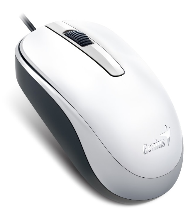 Genius optical wired mouse DX-120, White