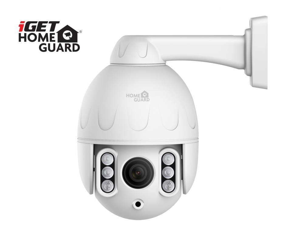 iGET HGWOB853 - WiFi venkovní rotační IP FullHD 1080p kamera, IP66, mikrofon + repro.,LAN,ONVIF 2.5