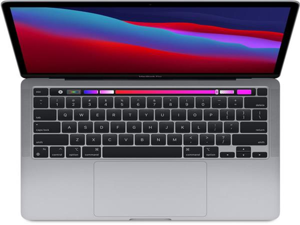 "Apple MacBook Pro 13,3"" Touch Bar/IPS Retina 2560x1600/8C M1/16GB/512GB_SSD/Silver (2020)"