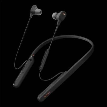 SELEKCE SONY WI-1000XM2B Bezdrátová sluchátka za krk s digitálním odstraněním šumu a optimalizací pro atmosférický tlak