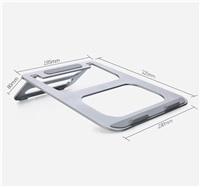 COTEetCI hliníkový podstavec pro notebooky stříbrný