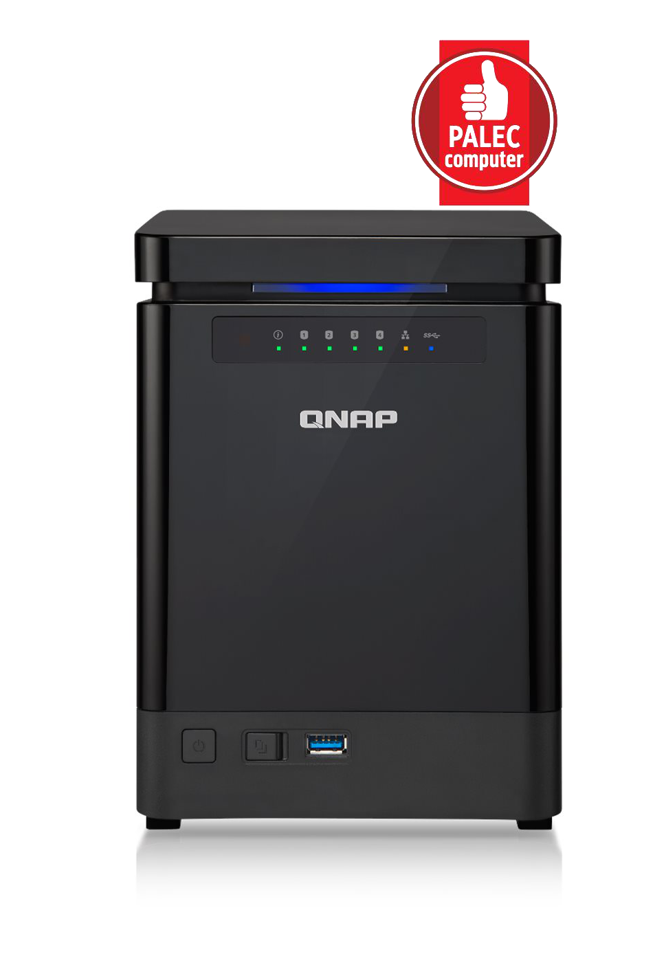 QNAP TS-453mini-8G (2,4G/8GB RAM/4xSATA)