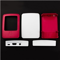 Raspberry Pi oficiální krabička pro Raspberry Pi 3B+, malinovo-bílá