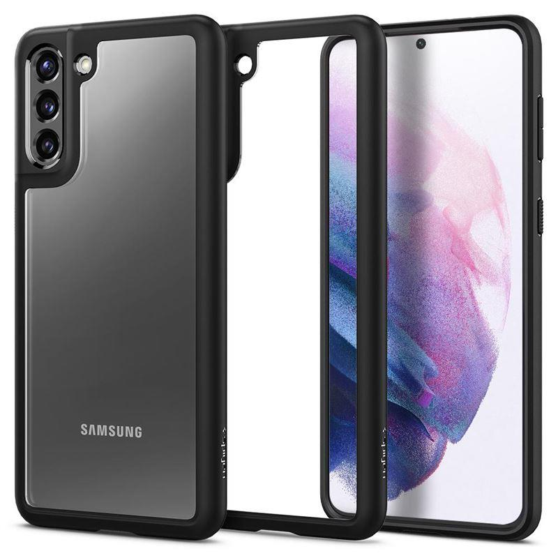 Ochranný kryt Spigen Ultra Hybrid pro Samsung Galaxy S21 plus černý