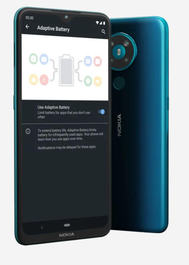 Nokia 5.3 (4/64GB) Dual SIM Azurový T-Mobile