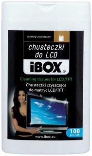 I-BOX čistící ubrousky na LCD (100ks)