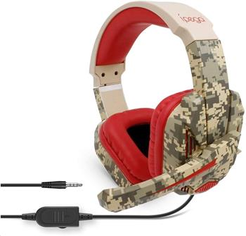 iPega PG-R005 Gaming Headset s Mikrofonem Red Camo