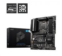 MSI MB Sc LGA1200 Z590 PRO WIFI, Intel Z590, 4xDDR4, 1xDP, 1xHDMI, WI-FI