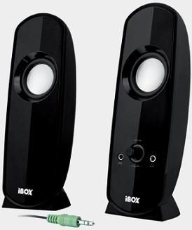 I-BOX PARIS 2.0 reproduktory, černé