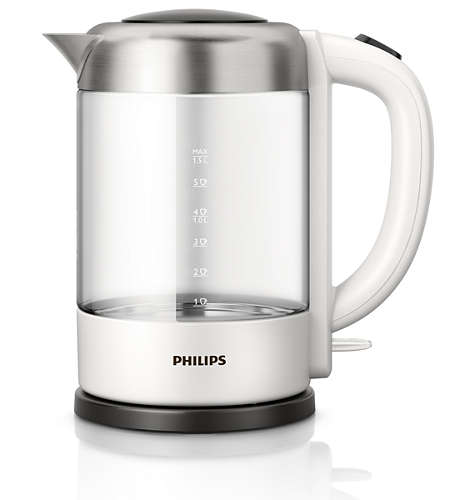Rychlovarná konvice Philips HD 9340/00 Avance, černo/bílá