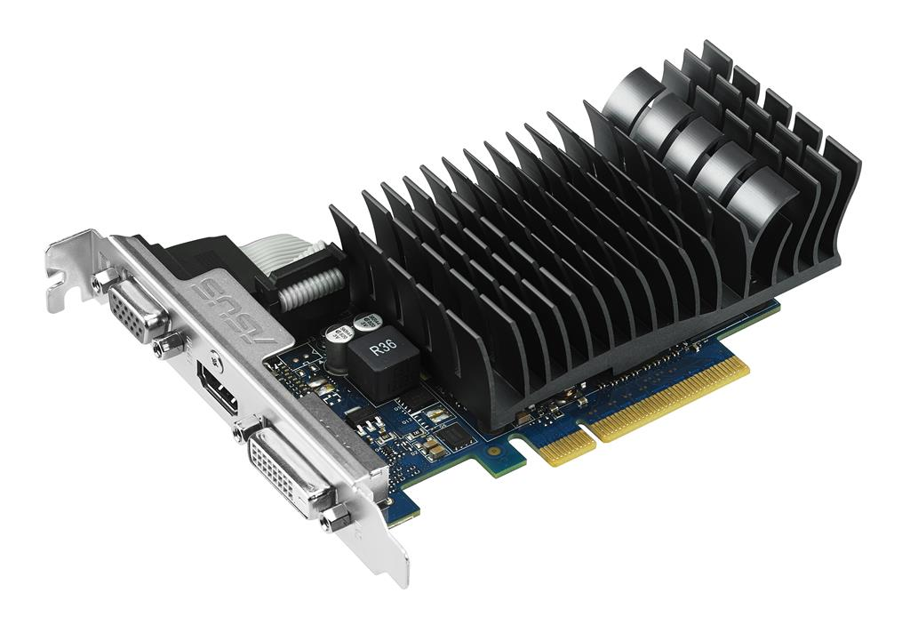 ASUS GeForce GT 730, 2GB GDDR3 (64 Bit), HDMI, DVI, VGA
