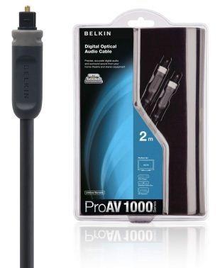 BELKIN Optický digitální kabel, ProAV 1000, 2 m