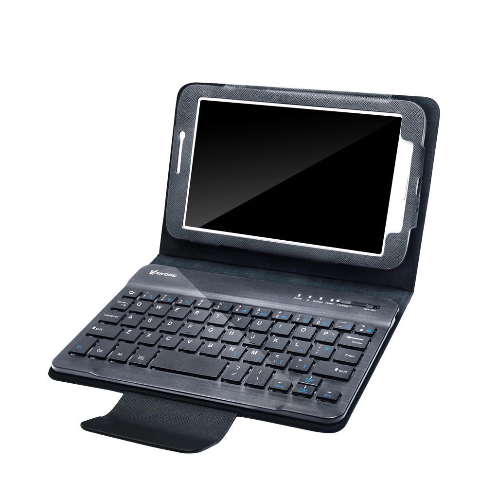 VAKOSS Pouzdro s klávesnicí Bluetooth na tablet Samsung 7'', černé