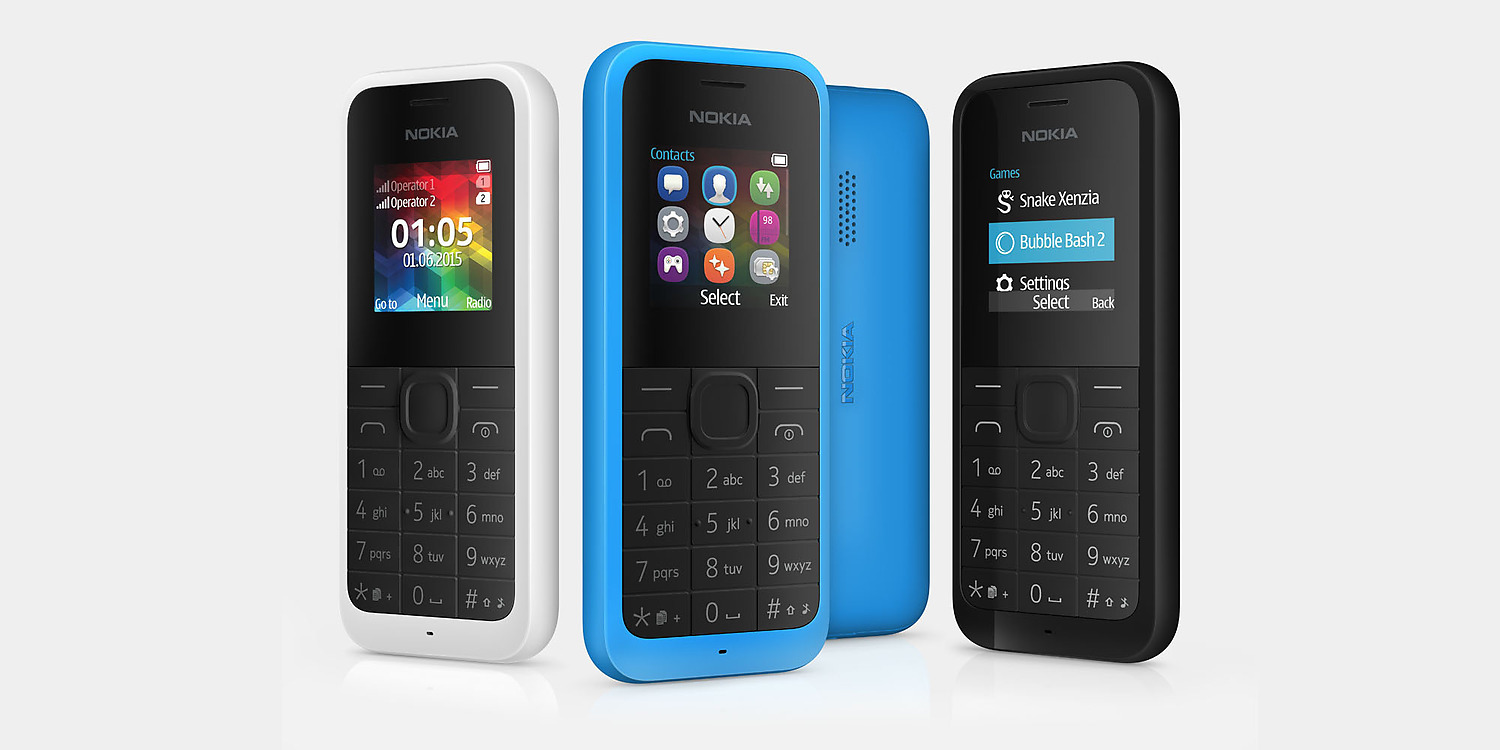 Nokia 105 DualSim Black (new)