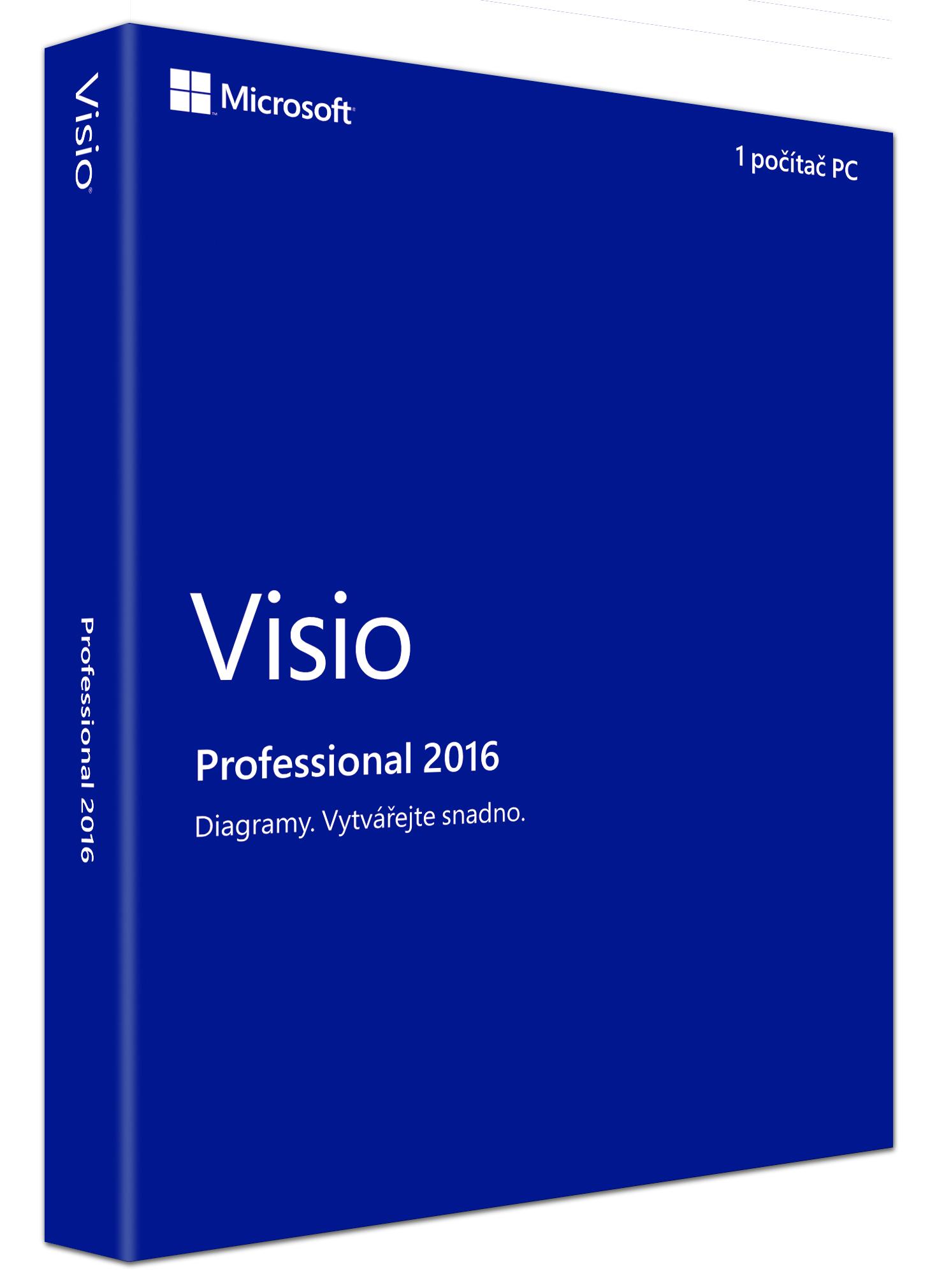 Visio Professional 2016 CZ