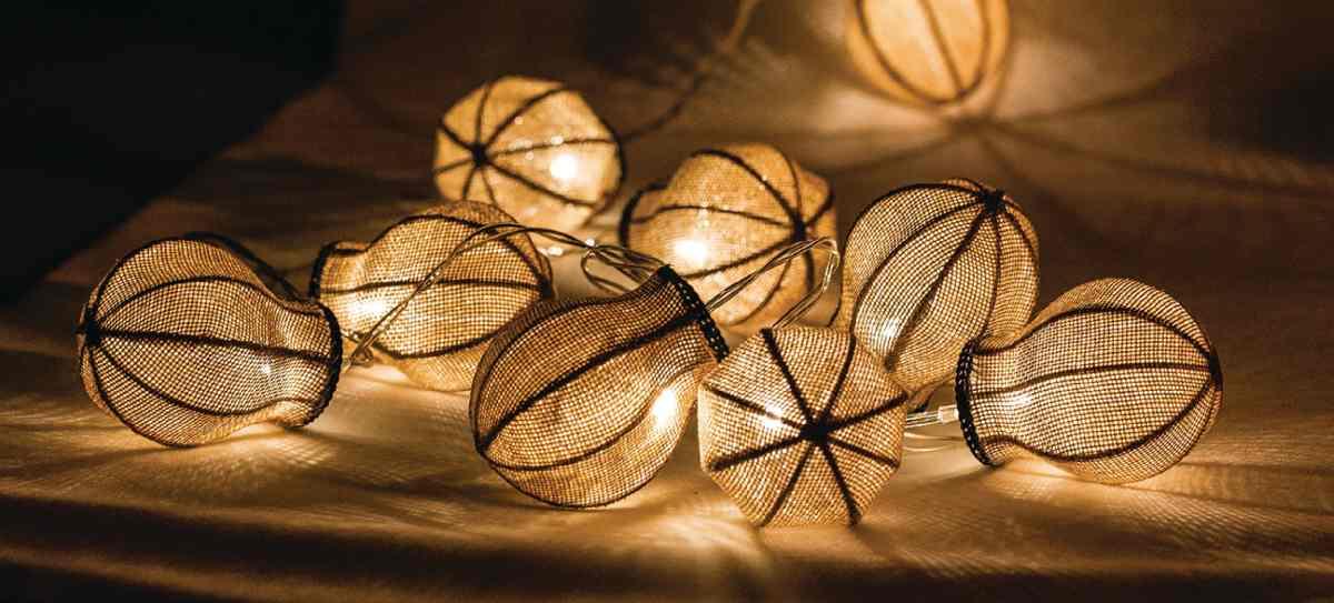 HQ HQLEDSLBULB - LED dekorační řetěz, 10 LED, žárovky