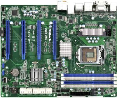ASRock C226 WS+,C226, 4xDDR3, 4xSATAIII, PCIe 3.0 x16, VGA, HDMI, 4xUSB 3.0