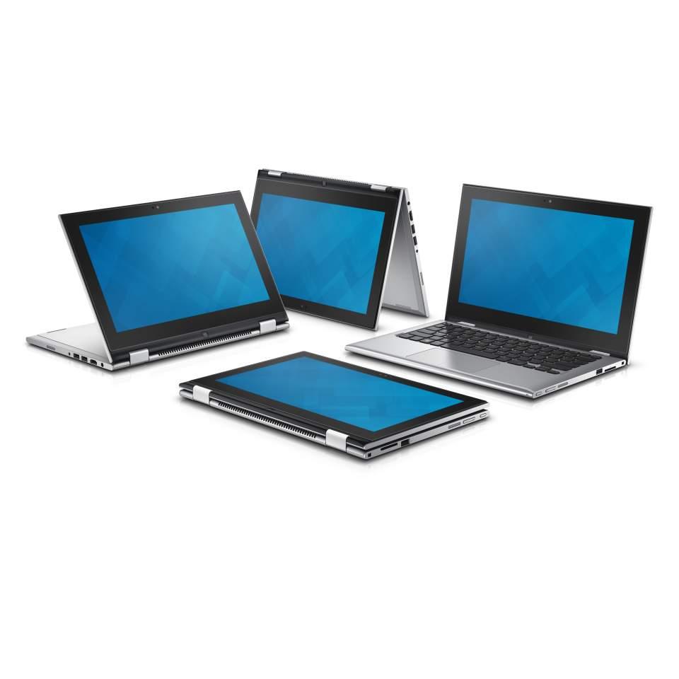 "Dell Inspiron 11z (3148) 2v1/i3 4030U/4GB/500GB/11.6"" Touch/Win 8.1/stříbrný"