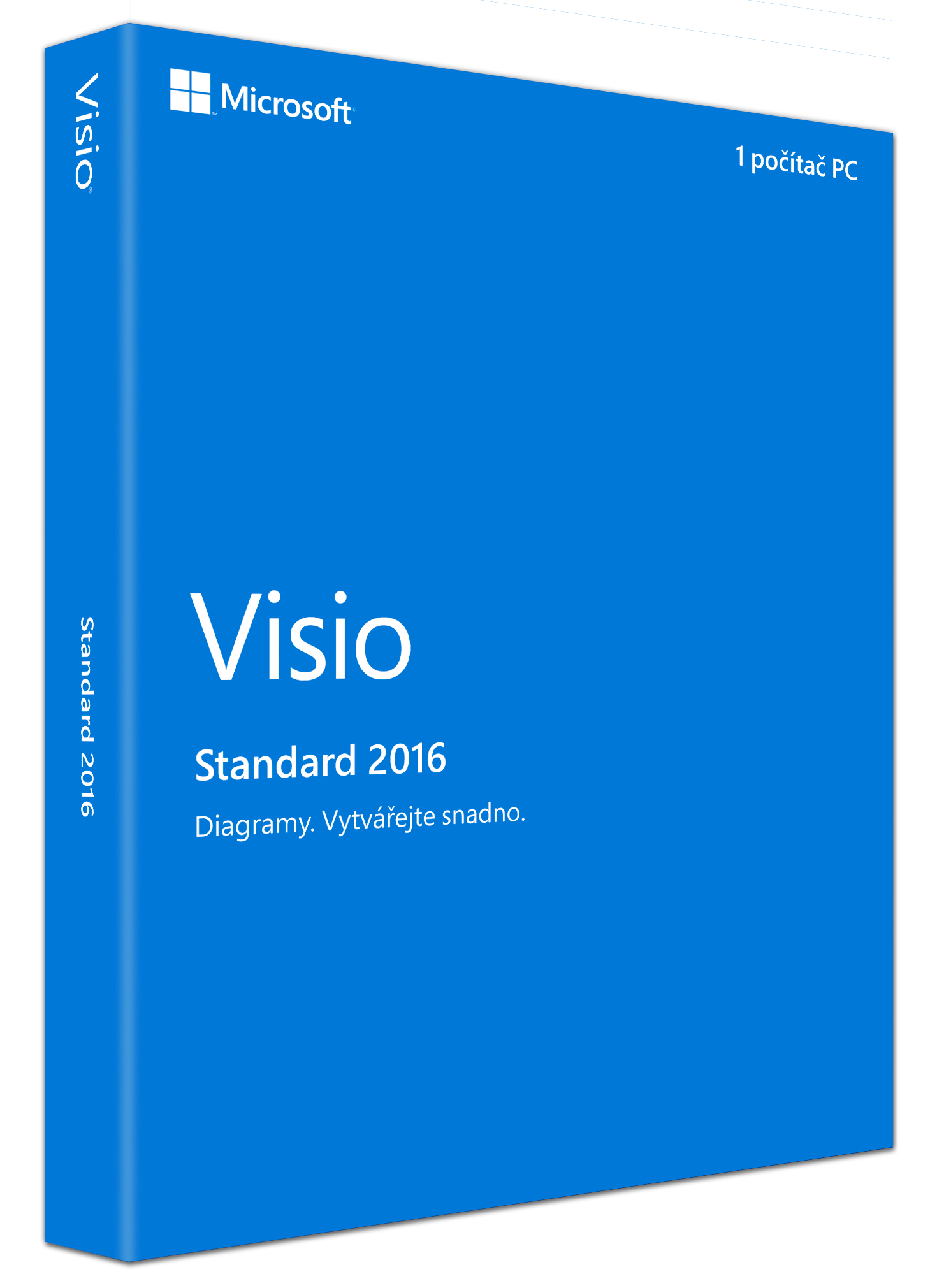 Visio Std 2016 Win Czech Medialess