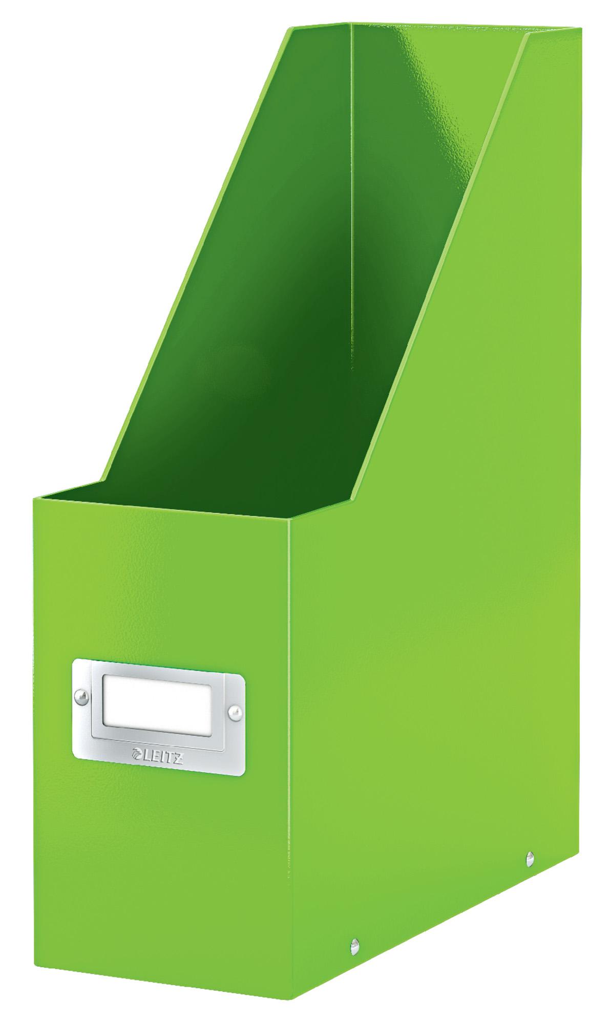 Stojan na časopisy Leitz Click&Store, zelená