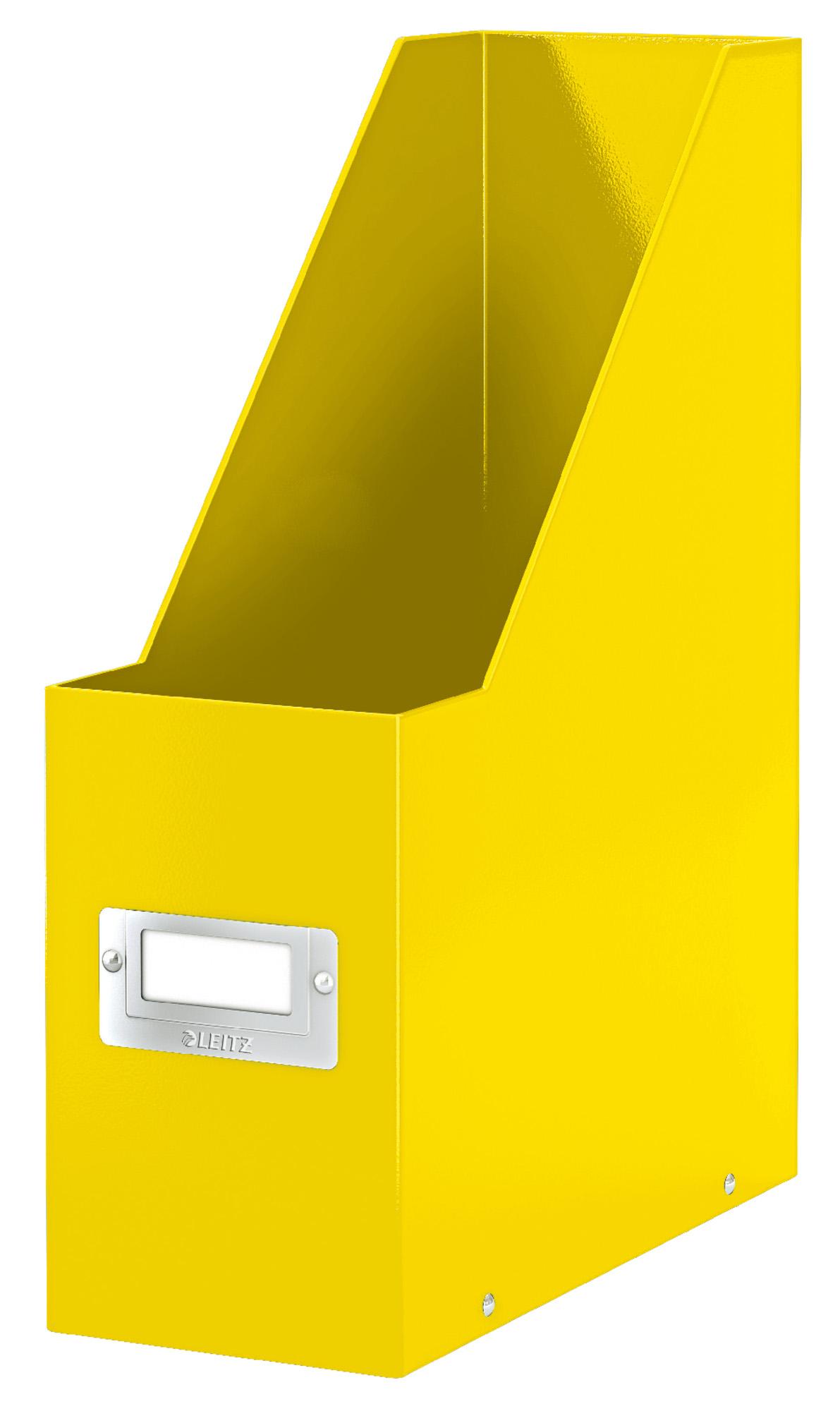 Stojan na časopisy Leitz Click&Store, žlutá