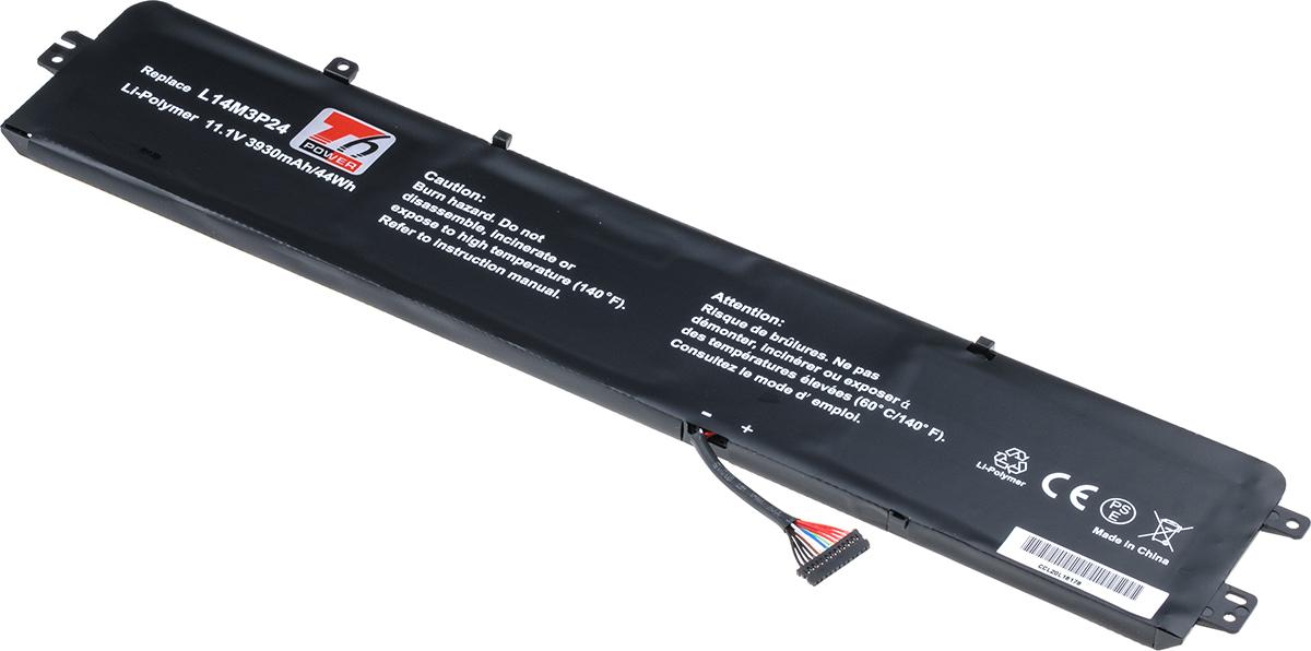 Baterie T6 power Lenovo Y520, IdeaPad 700-15ISK, 700-17ISK serie, 3930mAh, 44Wh, 3cell, Li-pol