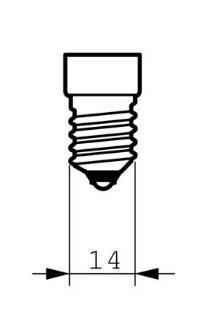 LED žárovka Philips E14 6W stmívatelná, 2700K 230V B38 CL P453506