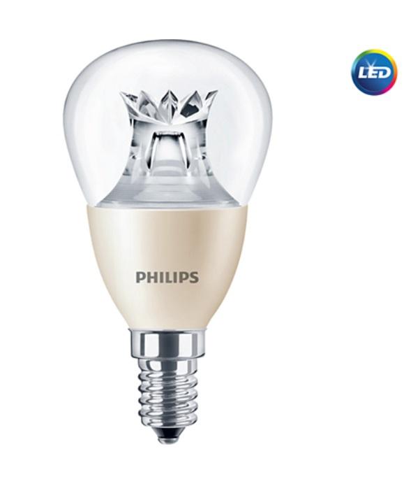 LED žárovka Philips E14 6W stmívatelná, 2700K, Dimtone 230V P48 CL P453582