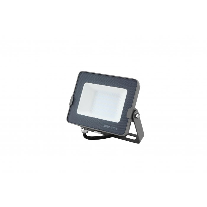 ELWATT LED reflektor 30W 3000-4000-6000K 2400lm šedý IP65
