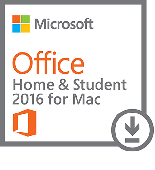 Microsoft Office Mac Home and Student 2016 All Languages - Online