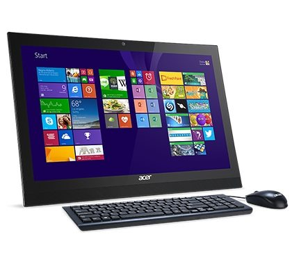 "Acer Aspire Z1-622 ALL-IN-ONE 21.5"" LED/ICQN3150D/4GB/1TB/DVDRW/802.11 b/g/n/1T1R+BT/USB/W10 Home"