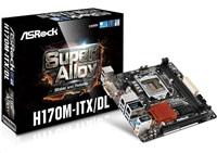 ASRock H170M-ITX/DL, H170, DualDDR4-2133, SATA3, mSATA, RAID, HDMI, DVI, mITX