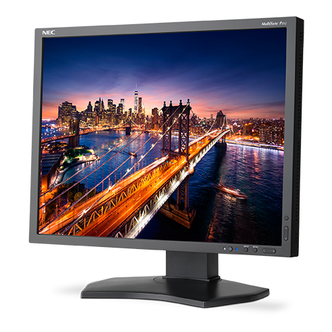 "NEC 21,3"" P212 - IPS-LED/1600x1200/1500:1/8ms/440cd/D-sub/DVI/DP/HDMI/černý"