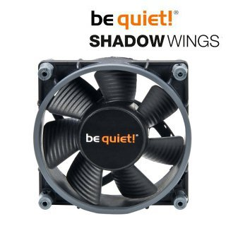 Ventilátor be quiet! Shadow Wings SW1 80mm Mid-Speed 80x80x25 2000rpm 15,8dB