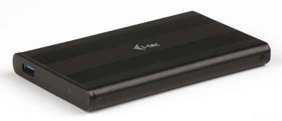 "i-Tec MySafe AluBasic Advance externí case pro 2,5"" SATA I/II/III SSD, USB3.0 - bez HDD"