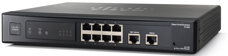 Cisco 10/100 VPN 8-Port Router RV082
