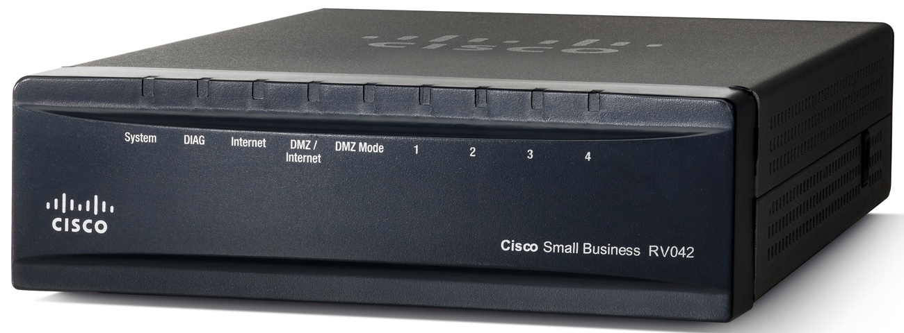 Cisco VPN Router RV042, 4xLAN 10/100 + 2xWAN