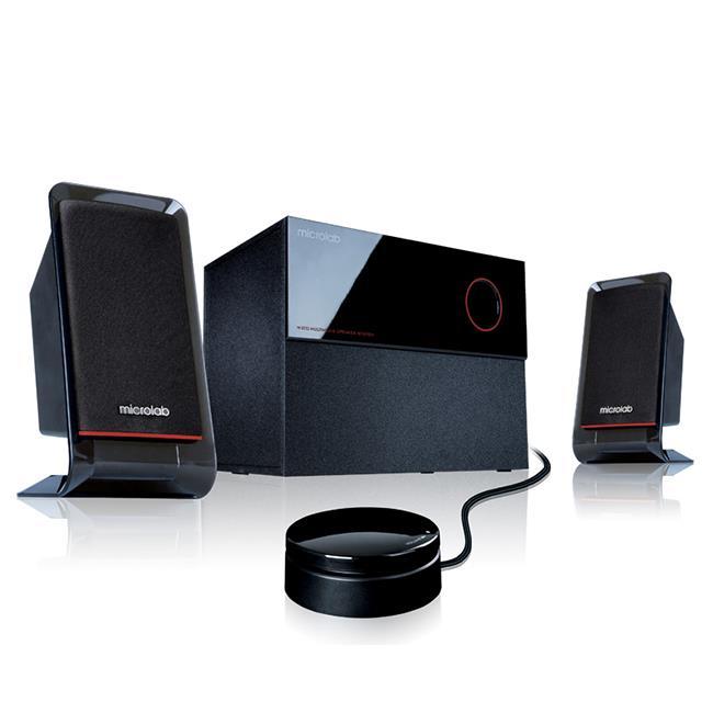 Microlab M200 multimediální reproduktory 2.1, RMS 40W, černé