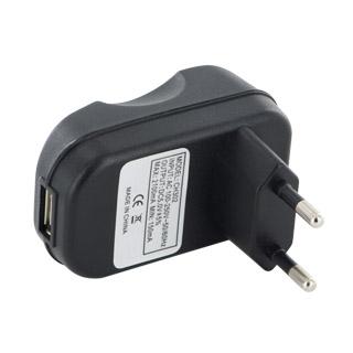 Whitenergy Cestovní nabíječka USB výstupem 1200mA