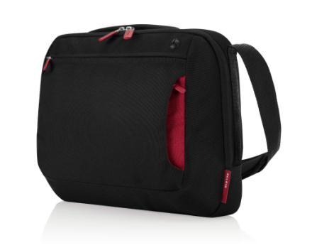 """Belkin case Messenger TopLoad 15,6"""", černá/červená"""