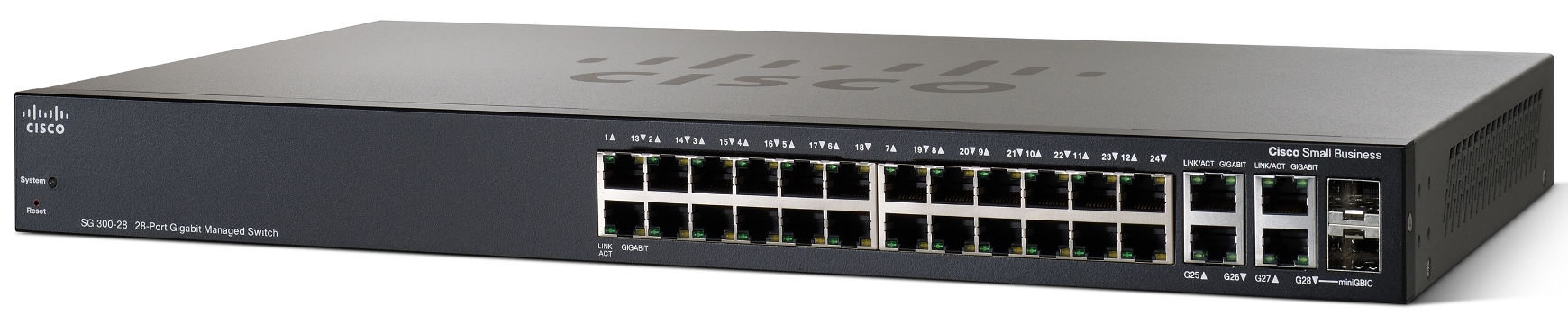 Cisco SRW2024-K9 SG300-28 28-port Gigabit Managed Switch