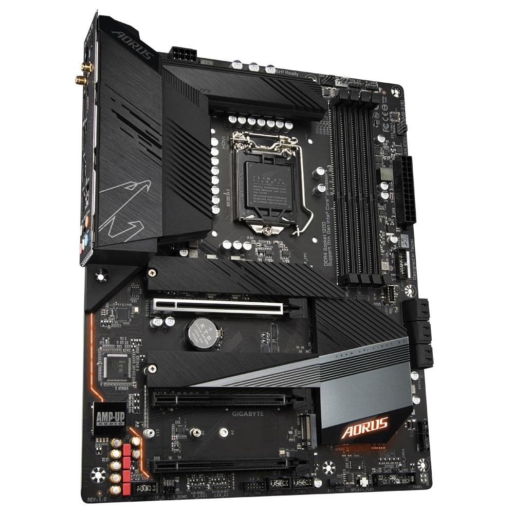 GIGABYTE MB Sc LGA1200 B560 AORUS PRO AX, Intel B560, 4xDDR4, 1xDP, 1xHDMI, WI-FI