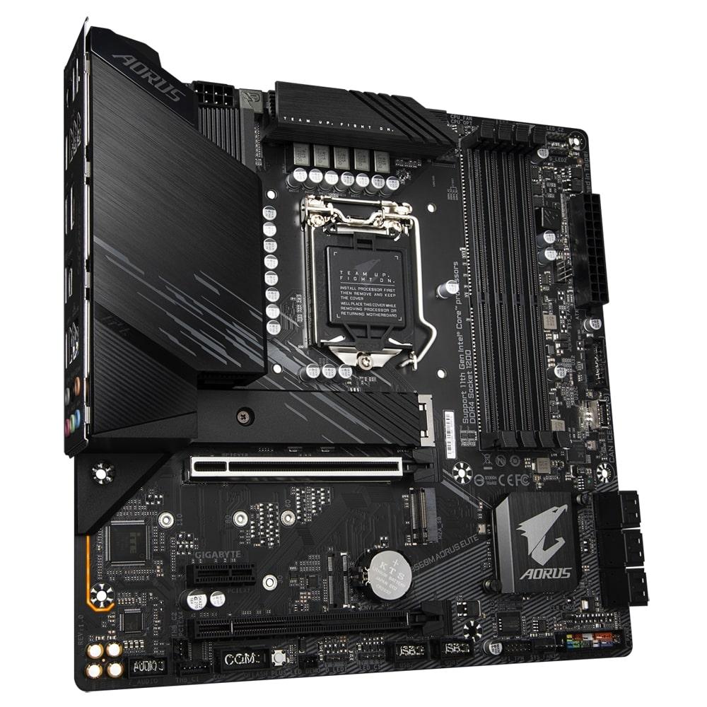 GIGABYTE MB Sc LGA1200 B560M AORUS ELITE, Intel B560, 4xDDR4, 1xDP, 1xHDMI, mATX