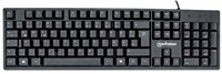 MANHATTAN Wired Keyboard, DE layout, black