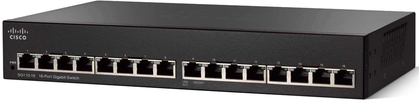 Cisco SG 110-16, 16-port Gigabit switch
