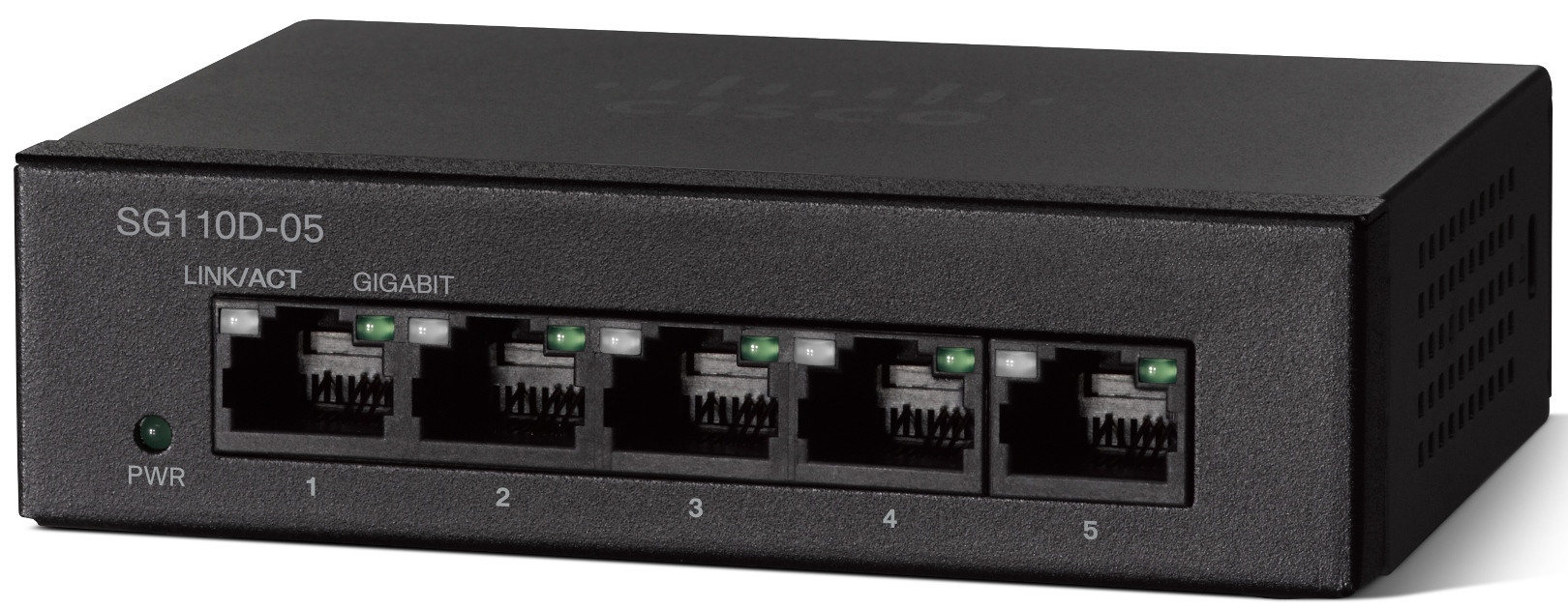 Cisco SG 110D-05, 5-port Gigabit switch