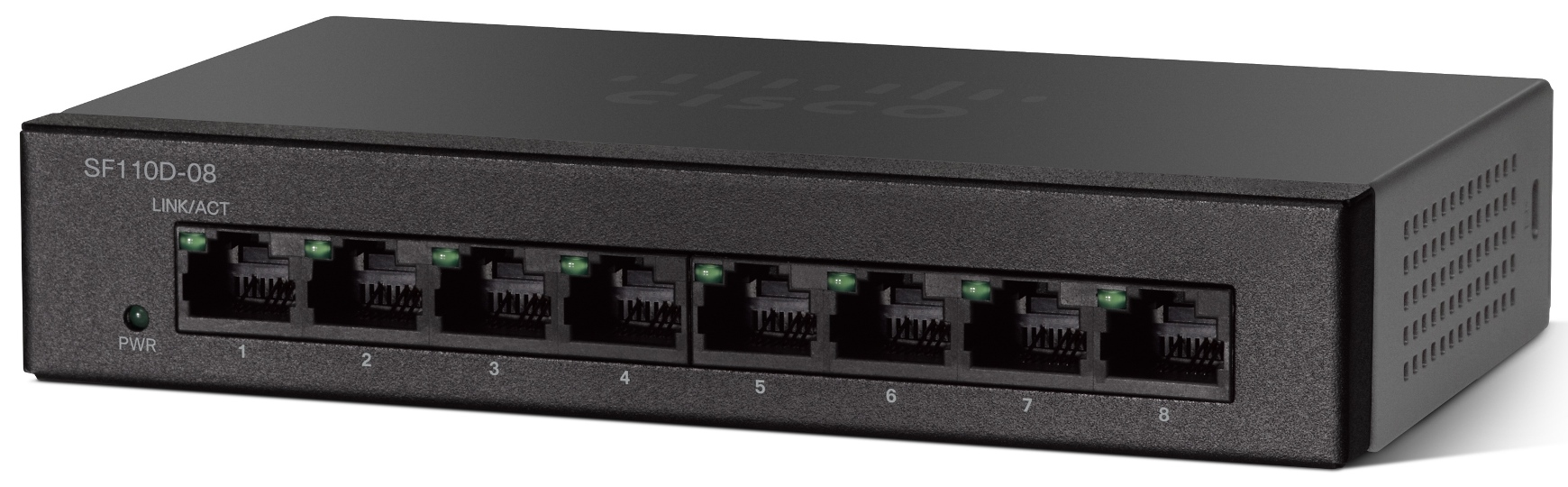Cisco SF110D-08-EU, 8x10/100 Desktop Switch